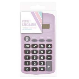 Blok Pocket Calculator - Assorted Pastel Colours