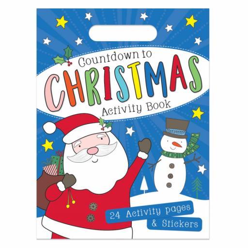 Tallon Countdown to Christmas Activity & Sticker Book