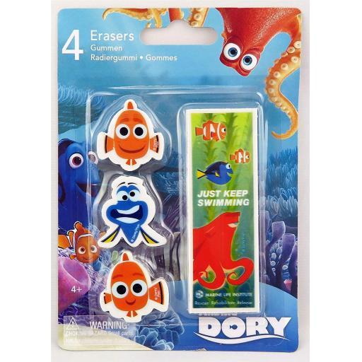 PMS Finding Dory Eraser Set