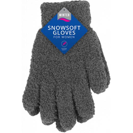 Winter Snowsoft Women's Gloves, One Size - Assorted Colours