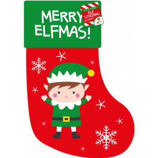 Gem Elf Christmas Stocking