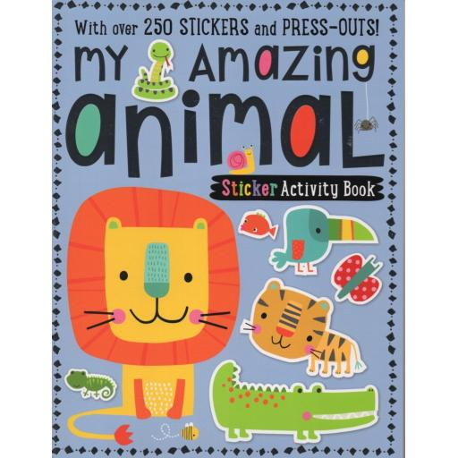 My Amazing Animal Sticker Activity Book