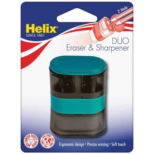 Helix Balance Duo Eraser & Sharpener