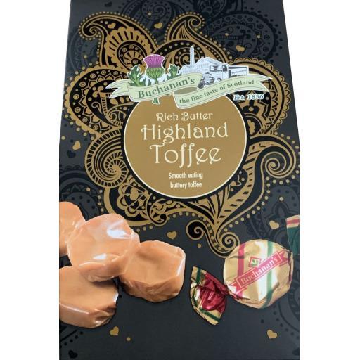 Buchanan's Boxed Highland Toffee Box 150g *BBE 10/21