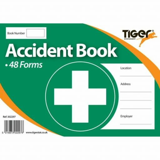 Tiger Accident Book - 48 Forms