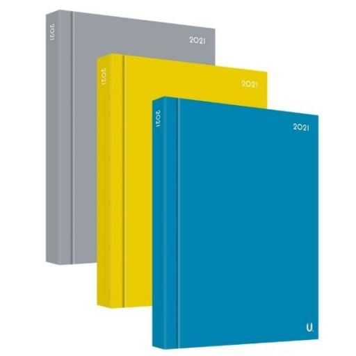Martello A4 Page a Day 2021 Fashion Diary - Assorted Colours