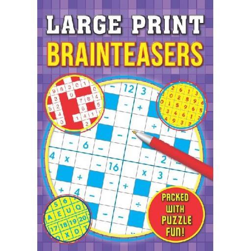 Brown Watson A4 Large Print Brainteasers