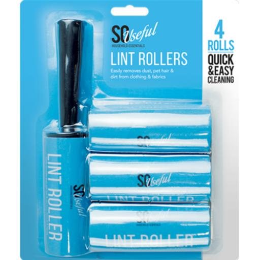 So Useful Lint Rollers - Pack of 4