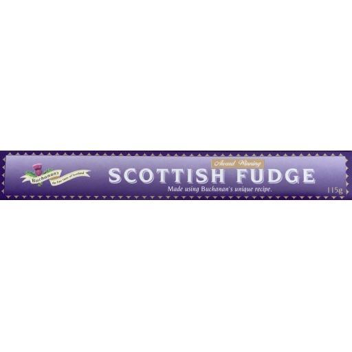 Buchanan's Oblong Scottish Fudge Bar 115g
