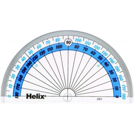 Helix 180 Degree Protractor