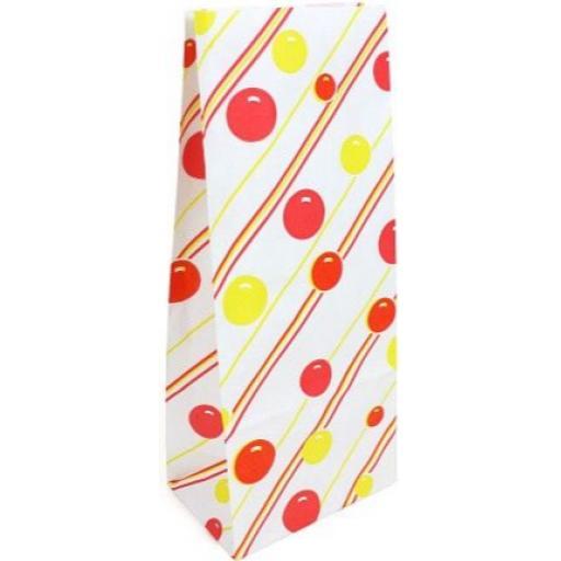Paper Pick'n'Mix Bag, White Candy - 10 Single Bags