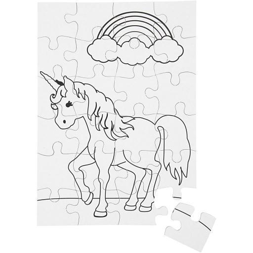 Creativ Unicorn Jigsaw Puzzles - Pack of 2