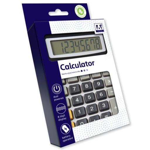 IGD Dual-Powered Desk Calculator