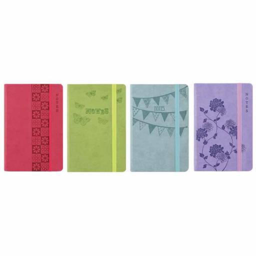 Easynote A5 Soft Touch Notebook Pastel- Assorted Colours