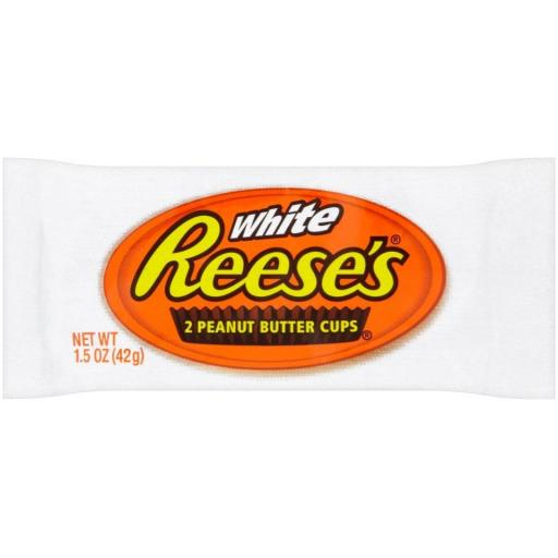 Reese's White 19g Peanut Butter Cups - Pack of 2 *BBE 24/08/21