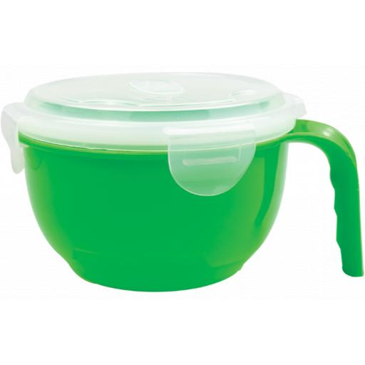 Cooke & Miller Microwavable Food Bowl Assorted Colours
