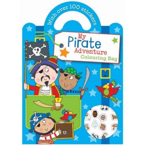 Carry Colouring & Sticker Book - Pirate Adventure