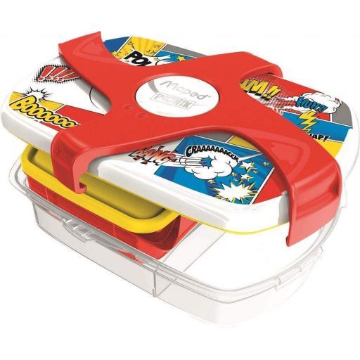Maped Picnik Concepts Lunch Box - Comic Design