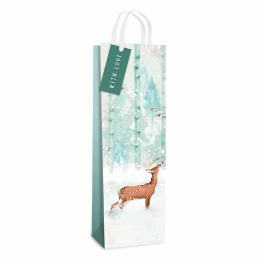 Tallon Forest Deer Bottle Bag - Single
