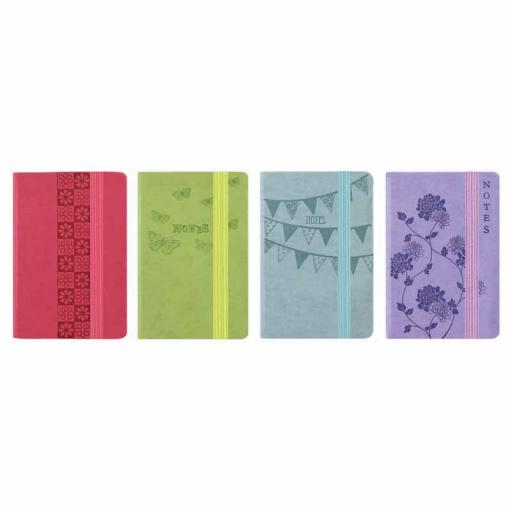 Easynote Pocket Soft Touch Notebook - Pastel Colours