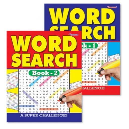 Squiggle A4 Wordsearch Puzzle Book - 1 Random Book