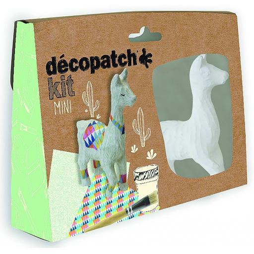 Mini Decopatch Kit - Llama