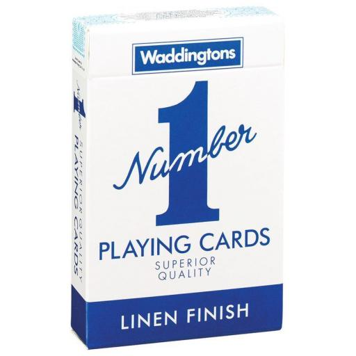 Waddingtons Number One Playing Cards