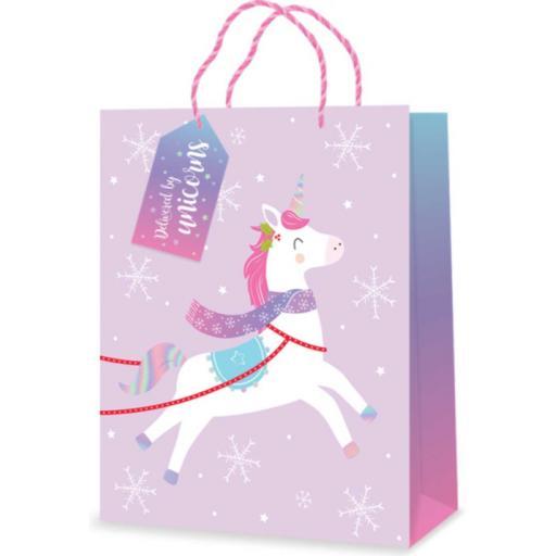Tallon Unicorn Gift Bags Large - Single