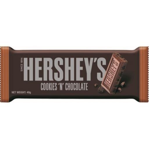 Hershey's Cookies'n'Chocolate Bar 40g