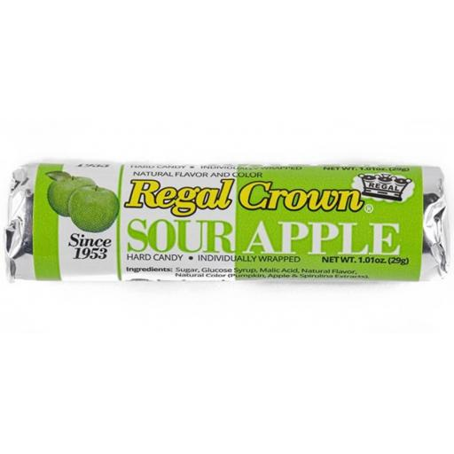 Regal Crown Hard Candy 29g - Sour Apple