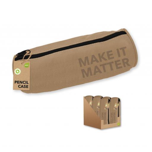 IGD Make it Matter Barrel Pencil Case