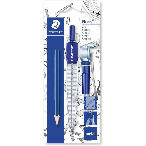 Staedtler Noris Metal Compass & pencil