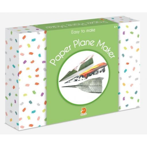 Smart Fox Easy to Make - Paper Plane Maker Kit
