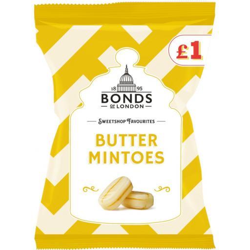 Bonds Sweetshop Favourites, Butter Mintoes 150g