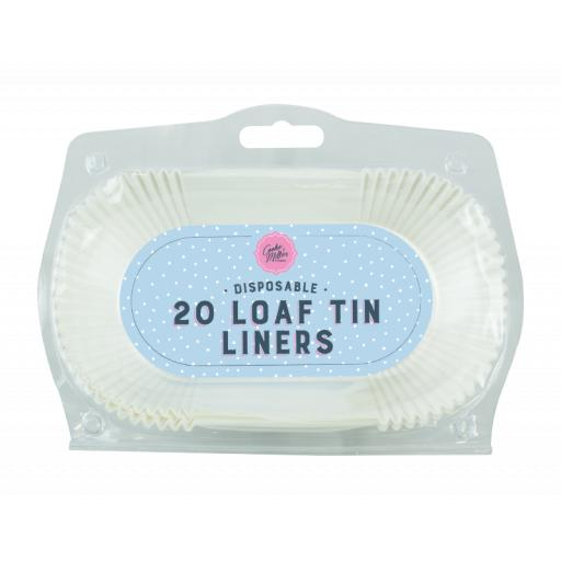 Cooke & Miller Disposable Loaf Tin Liners - Pack of 20