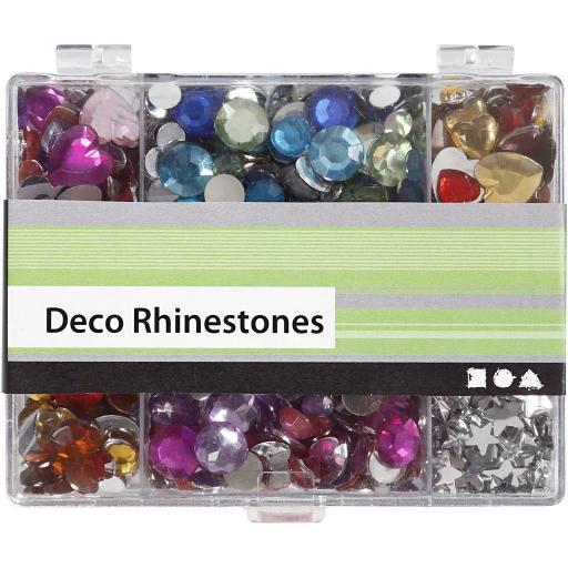 Creativ Deco Gemstones - Box of 300