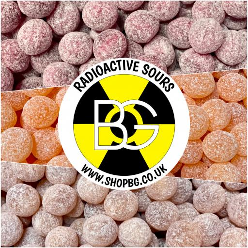 BG Radioactive Sours 175g