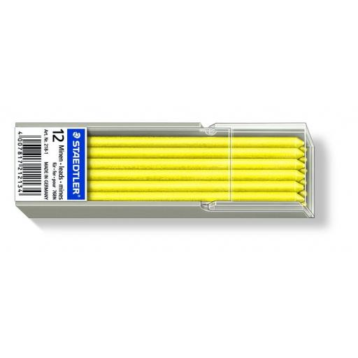 Staedtler Omnichrom Non-Permanent Leads Yellow - Pack of 12