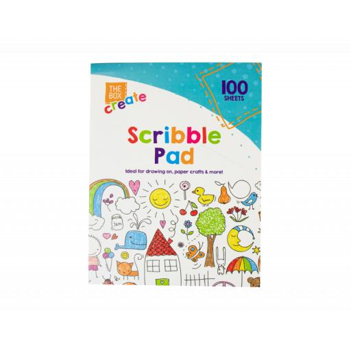The Box Scribble Pad 23x17cm - 100 Sheets