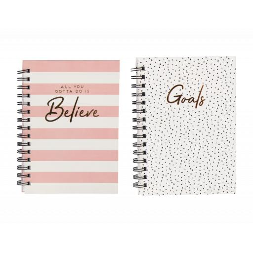 The Box A5 Wiro Notebook - Assorted Designs