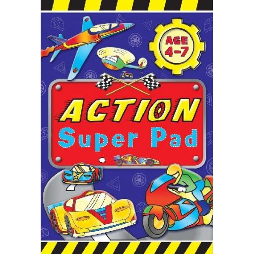 Brown Watson Age 4-7 A5 Action Super Pad