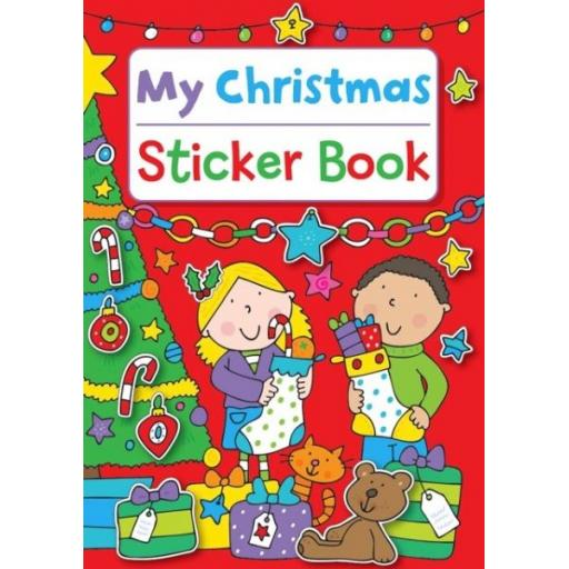 Martello My Christmas A4 Red Sticker Book