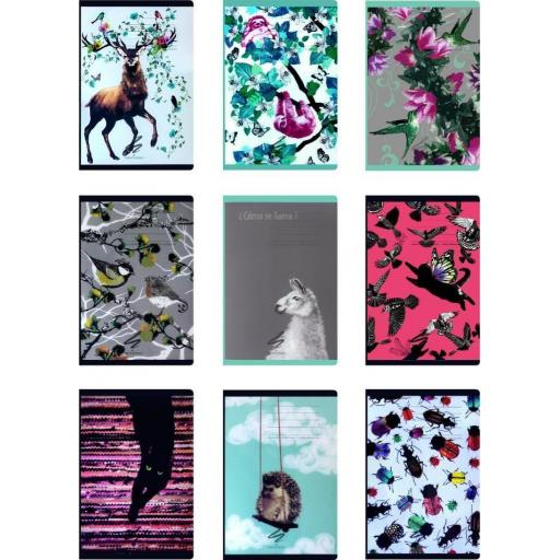 Narcissus A4 Fun Lined Notebook Assorted Designs