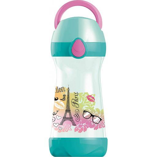Maped Picnik Concepts Lunch Water Bottle 430ml - Paris Design