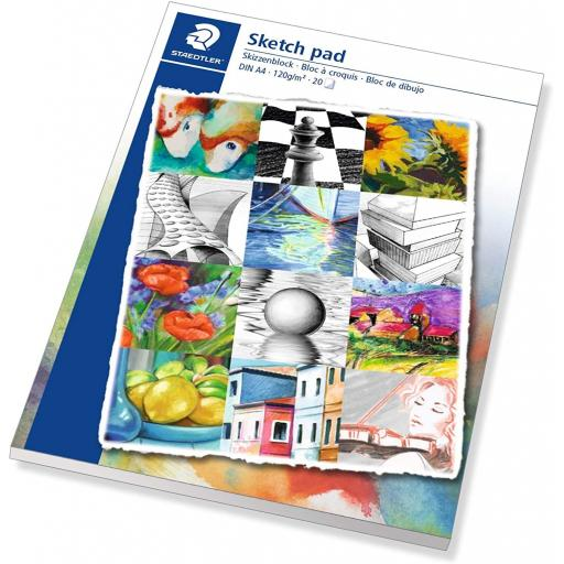 Staedtler Din A4 Sketch Pad - 20 Sheets