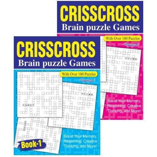 Squiggle A4 Crisscross Book - 1 Random Book