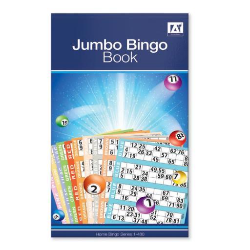 IGD Jumbo Bingo Book 1-480