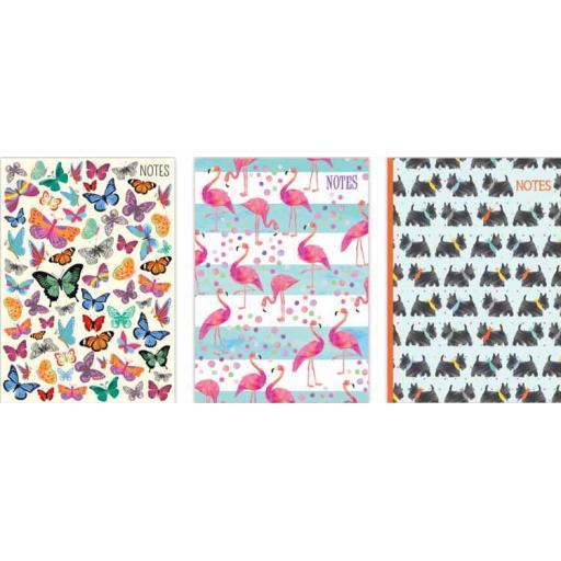 Tallon A5 Hardback Animals Notebook - Assorted Designs