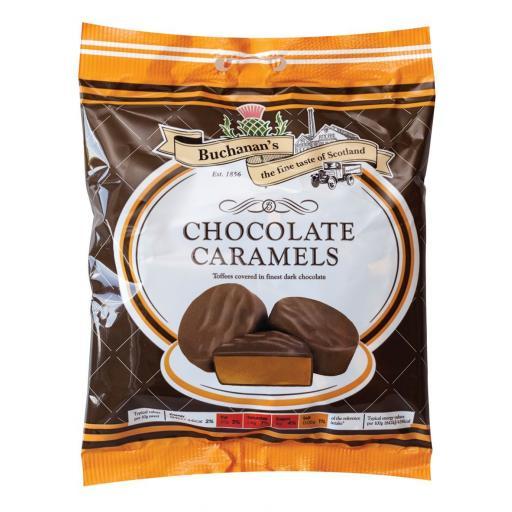 Buchanan's Chocolate Caramels 150g