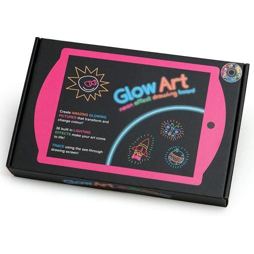Marvins Magic Glow Art Pad - Pink